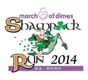 2014 shamrock run logo